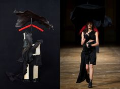 Fashion Week Sculptures By Artist Marie Valognes Fashion Week, Fashion Trends, Silhouette, Still Life Art, Yohji Yamamoto, Abstract Sculpture, Fashion Story, Light In The Dark, Fashion Beauty