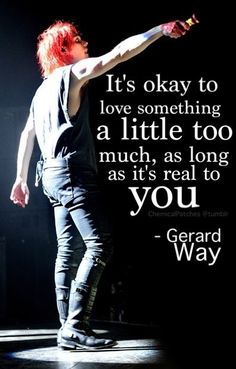 My Chemical Romance ~ Gerard Way I keep on falling in love with him <3 Gerard is too hot for his own good