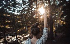 девушка в лесу - Поиск в Google