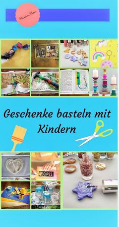 Geschenke basteln mit Kindern für Weihnachten oder Geburtstag Making gifts with children is fun, unfortunately the right idea is often missing. With me you will find a simple gift for children u Christmas Gifts For Mom, Christmas Bows, Christmas Humor, Christmas Birthday, Funny Birthday Gifts, Birthday Diy, Practical Gifts, Simple Gifts, Hobbies For Kids