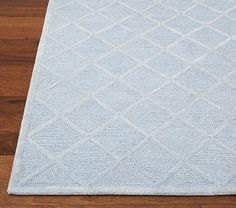 Nuloom Handmade Abstract Wool Fancy Pixel Trellis Rug 4 X 6 Grey Size And Babies