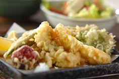 Tempura de vegetais ++ Kazuyo Nakajima (e-recipes)