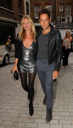 Kate+Moss in Kate Moss and Jamie Hince at White Cube Gallery