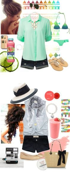 """""""Caribbean Vacation Outfits"""" by annalisa785 on Polyvore"""