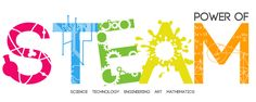 A STEAM (Science, Technology, Engineering, Arts and Mathematics) Logo