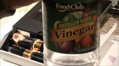 I Use Vinegar to Clean Alkaline Battery Corrosion
