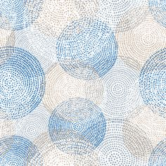Removable Wallpaper - Mosaic Circles
