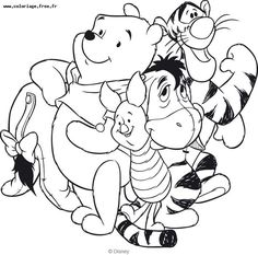 Winnie the pooh to color for kids - Winnie The Pooh Coloring Pages for Kids - Just Color Kids : Coloring Pages for Children Cartoon Coloring Pages, Disney Coloring Pages, Coloring Pages To Print, Free Printable Coloring Pages, Adult Coloring Pages, Coloring Pages For Kids, Coloring Book Pages, Kids Coloring, Winnie The Pooh Drawing