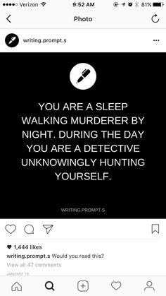 This was a real thing that happened in real life, the detective was missing a toe and noticed the murderer also did. Turned out he was the murderer and turned himself in, he was sent to a place so they could monitor him, he wasn't tried cause they had proof it was sleepwalking