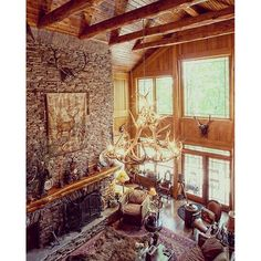 Grandfather mountain home constructed by Mountain Construction of Boone NC.