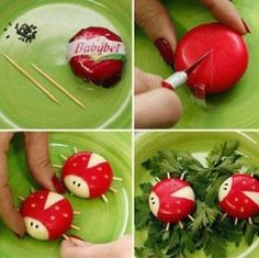 babybel-cheese-cute-party-appetizers ladybug essen babybell 40 Adorable DIY Ladybug Projects and Tutorial - Page 3 of 4 Snacks Für Party, Appetizers For Party, Cheese Appetizers, Appetizer Ideas, Ladybug Appetizers, Cute Food, Good Food, Funny Food, Babybel Cheese