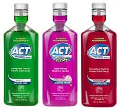 ACT Fluoride Rinse Only $.74 At Target!