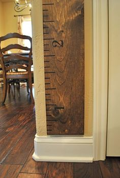 $15.00 for the stencils. Not hard to make.That Village House: DiY Growth Chart