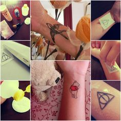 Temporary tattoo - lasts 3/4 days- create your own designs!