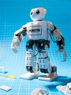 DARwIn-Mini This intelligent robot is famous for its transformability and easy to control humanoid design.