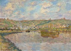 Late Afternoon in Vetheuil, 1880. Claude Monet