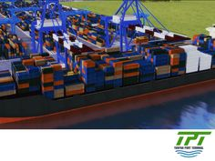 LA MEJOR TERMINAL PORTUARIA. Uno de los servicios que brindará Tuxpan Port Terminal será para buques de carga general; son barcos adaptables y flexibles que pueden transportar prácticamente cualquier tipo de carga, como productos agrícolas ensacados, siderúrgicos o maquinaria. #tpt