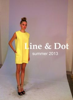 the Line and Dot summer 2013 collection