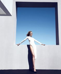 Cameron Diaz by Camilla Akrans for Harper's Bazaar US August 2014 | The Fashionography