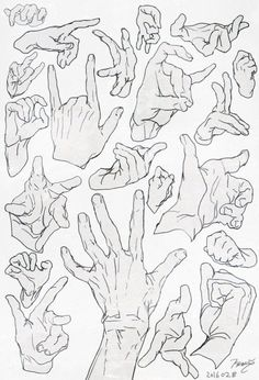 "Anatomy Drawing Reference Action poses 5 by on deviantART More - ""n"" Hand Drawing Reference, Anatomy Reference, Art Reference Poses, Anatomy Sketches, Drawing Sketches, Art Drawings, Manga Tutorial, Anatomy Tutorial, Poses References"