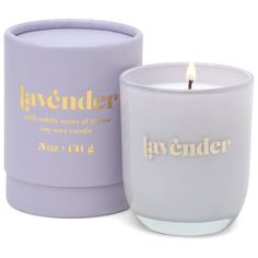 Mini Candles, Tea Light Candles, Soy Wax Candles, Scented Candles, Lavender Candles, Tyler Candles, Candle Packaging, Aromatherapy Candles, Purple Glass