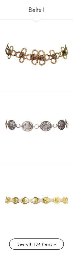 """Belts I"" by savagedamsel ❤ liked on Polyvore featuring accessories, belts, jewelry, jewels, jeweled belt, hook belt, vintage belt, jewel belt, bracelets and women"