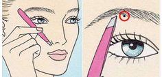 8 étapes pour réussir vos sourcils à tous les coups ! Plus besoin d'esthéticienne...