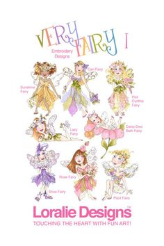 Very Fairy I Embroidery Design Collection - CD