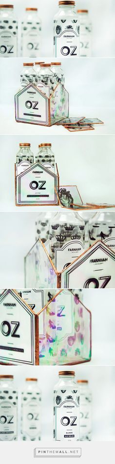 The Wizard of Oz / Glass bottle packaging design by Pascale Tétreault