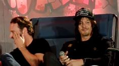 Bromance panel with Andrew Lincoln & Norman Reedus 10/18/14 Walker Stalk...
