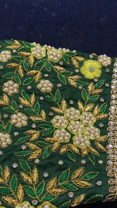 Choli Blouse Design, Wedding Saree Blouse Designs, Pattu Saree Blouse Designs, Hand Work Design, Hand Work Blouse Design, Peacock Embroidery Designs, Best Blouse Designs, Maggam Work Designs, Sarees
