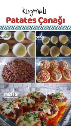 Kıymalı Patates Çanağı potato al horno asadas fritas recetas diet diet plan diet recipes recipes Lunch Recipes, Healthy Dinner Recipes, Low Carb Recipes, Diet Recipes, Potato Recipes, Mash Potato Dishes, Turkish Recipes, Ethnic Recipes, Romanian Food