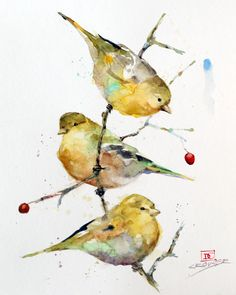 GOLDFINCH Watercolor Bird Print by Dean Crouser | Etsy Watercolor Bird, Watercolor Animals, Watercolor Paintings, Watercolor Artists, Watercolor Portraits, Watercolor Landscape, Watercolours, Landscape Paintings, Tinta Epson