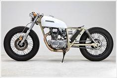 tarafirma:    motoblogcl:    Micah Vince's '74 Honda CB360    oh what?!    Honda