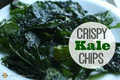 These Homemade Kale Chips are a great healthy alternative to store-bought chips - so good that anytime I make them they are gone in a flash!
