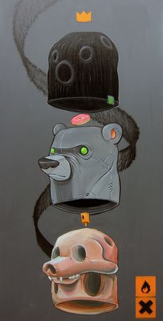 MACHINEMOUTH by Clog Two, via Behance