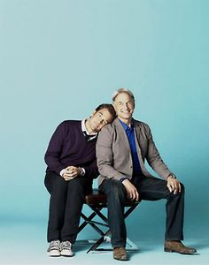Michael Weatherly  Mark Harmon