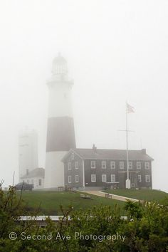 Fine Art Montauk Lighthouse // Photography by SecondAvePhotography, $28.00