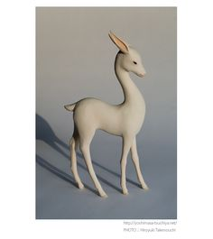 Gorgeous, elegant sculptures by Yoshimasa Tsuchiya