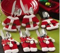 Jul dekoration till bestick fint till julbordet. på Tradera.com - Övrigt