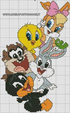 49 Ideas for baby crochet disney punto croce Disney Cross Stitch Patterns, Cross Stitch Designs, Cute Cross Stitch, Cross Stitch Charts, Cross Stitching, Cross Stitch Embroidery, Crochet Pixel, Stitch Disney, Image Pixel Art
