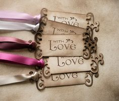 Valentines Day Love Tags