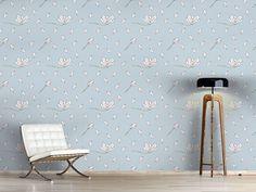 Design #Tapete Magnolien Blüte