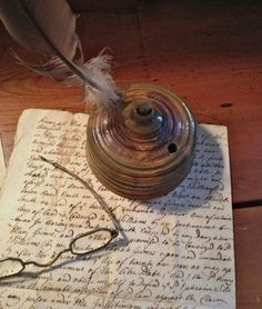 Quill and Ink on Parchment