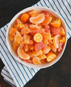 Citrus Salad with Honey , Bitters Dressing...