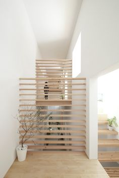 House in Yamanote Arch Interior, Interior Stairs, Interior And Exterior, Architecture Details, Interior Architecture, Japanese Architecture, Interiores Design, Interior Inspiration, House Design