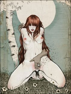 Ilustración de Martine Johanna.