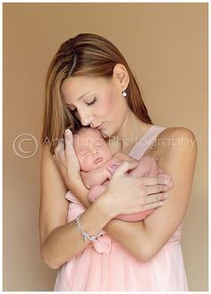 Love this mom and newborn pose. Pure love!