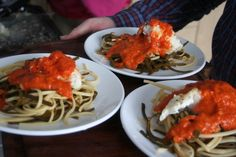 Recipes — Mungo Murphy's Seaweed Co. Roasted Red Pepper Sauce, Roasted Red Peppers, Sea Weed Recipes, Food Shows, Seaweed, Spaghetti, Cooking Recipes, Pasta, Stuffed Peppers