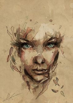 Portrait Illustrations by Mario Alba